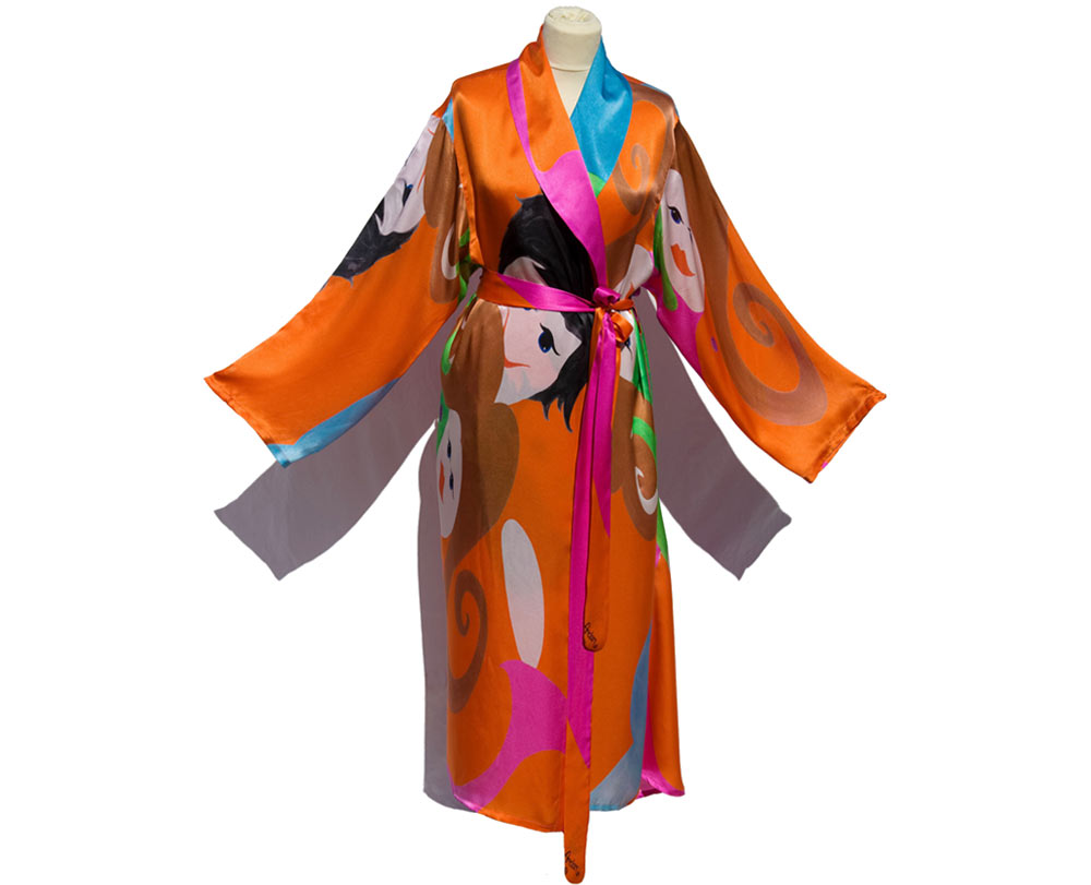 Kitty Arden Dressing Gown - The Dancers.